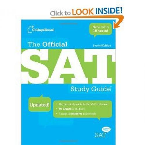 The Official SAT Study Guide, 2nd edition [Paperback]
