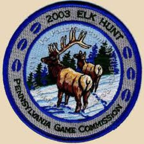 Patches; 2003 elk hunt patch