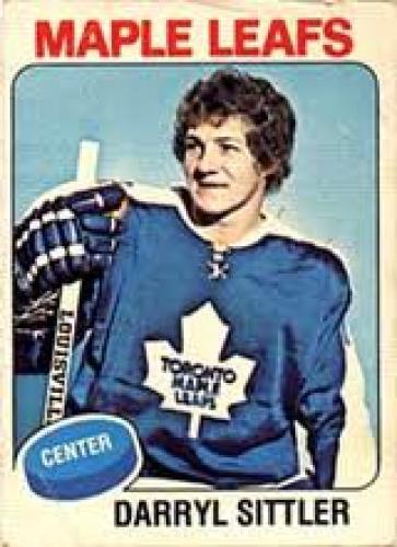 Hockey Cards; DARRYL SITTLER OPC HOCKEY ;Center;Maple leafs