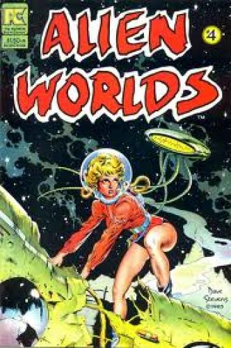 AlienWorlds4; It was originally intended for an issue of Buster Crabbe Comics