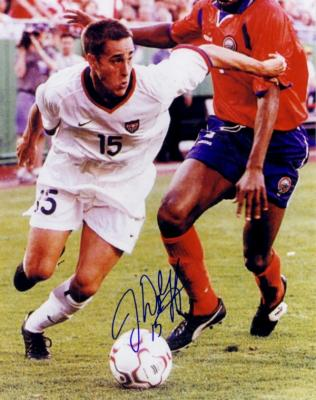 Josh Wolff autographed U.S. Soccer 8x10 photo