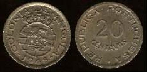 20 centavos; Year: 1948-1949; (km 71); Anniv. of Revolution