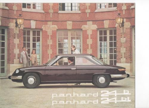 brochure PANHARD 24 B, 1965