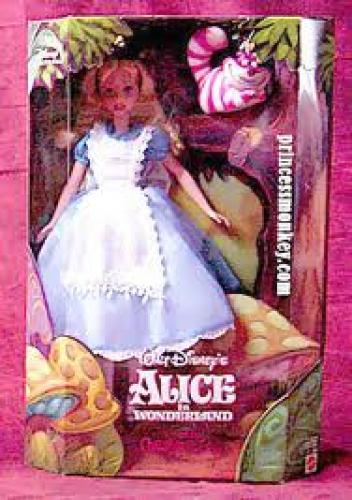 Dolls; Alice in Wonderland &amp; Cheshire Cat, Disney