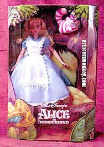 Dolls; Alice in Wonderland & Cheshire Cat, Disney