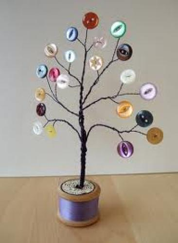 Crafts; Handmade crafts. photo tree