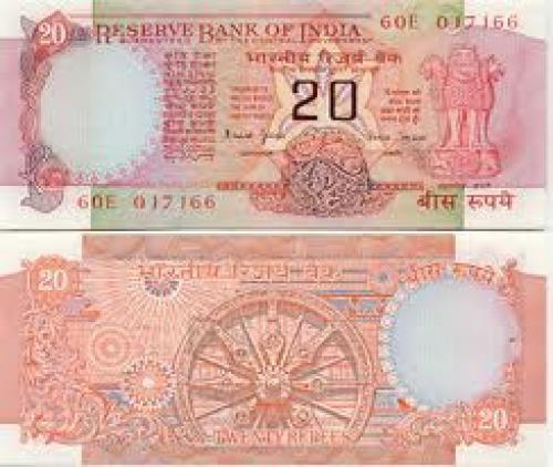 Banknotes;Indian 20 Rupees banknotes