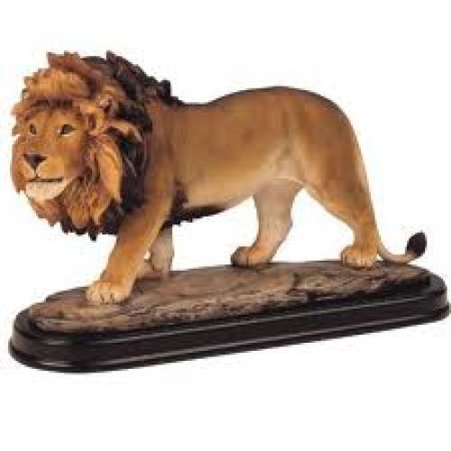 Lion Collectible Wild Cat Animal Decoration Figurine