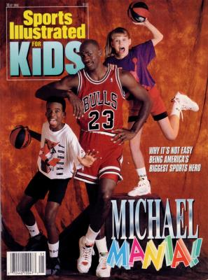 Michael Jordan May 1992 Sports Illustrated for Kids NO LABEL MINT