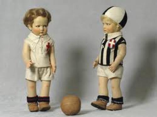 Dolls; 1920s 1930s boy doll; sports doll type - Lenci