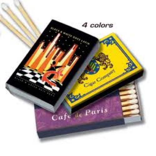Matchboxes; Custom Printed