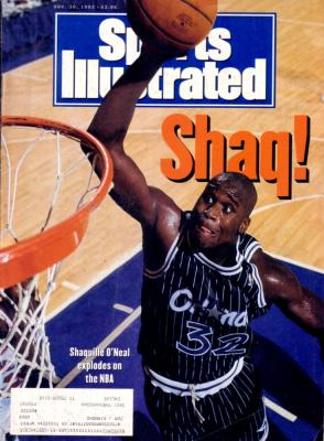 Shaquille O'Neal 1992 Sports Illustrated