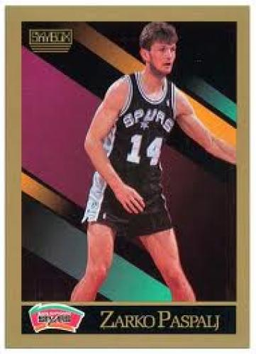 This old NBA Skybox card features Zarko
