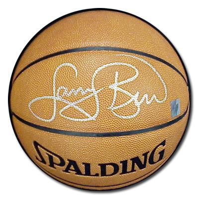 Larry Bird autographed NBA indoor/outdoor basketball
