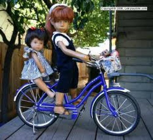 "Dolls; The 16"" redhead was made in Germany by Gotz, in 1970"