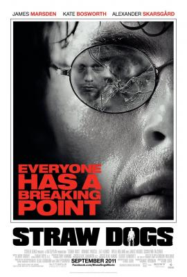 Straw Dogs mini movie poster (Kate Bosworth James Marsden Alexander Skarsgard)