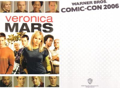 Veronica Mars 2006 Comic-Con 5x7 promo card (Kristen Bell)