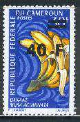 Fruits overprint 1v; Year: 1972