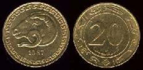 20 centimes 1987 (km 118)