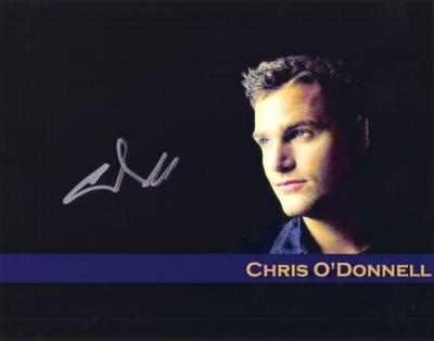 Chris O'Donnell autographed 8x10 photo