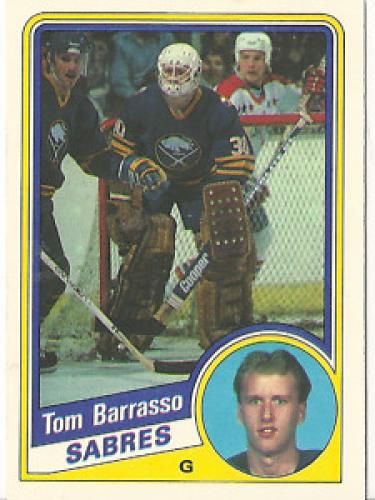 1984-85 O Pee Chee # 18 Tom Barrasso