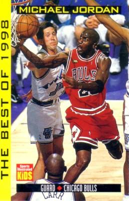 Michael Jordan Bulls The Best of 1998 Sports Illustrated for Kids card