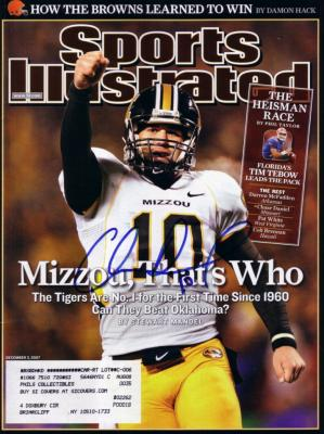 Chase Daniel autographed Missouri 2007 Sports Illustrated