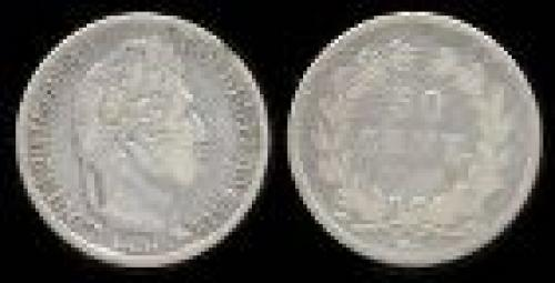 50 centimes; Year: 1831-1845; (km 741)