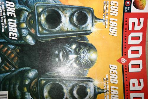 2000ad Prog 1002 In Pristine Condition