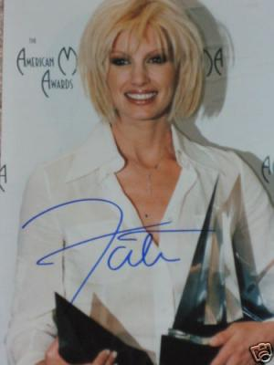 Faith Hill autographed 8x10 photo