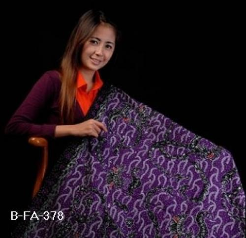 Batik Fabric Flora Motif - Handwritten