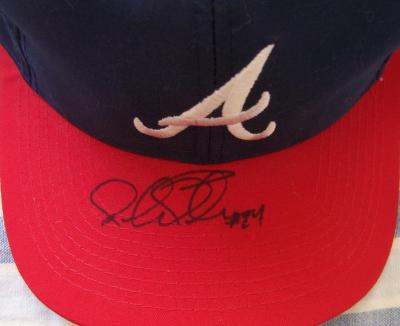 Michael Tucker autographed Atlanta Braves replica cap