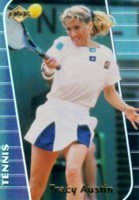 Tracy Austin 2000 Collector&#039;s Edge card