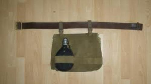 Militaria; Mills 30 breadbag/backpack, this was used by machine gunners and cyclists: