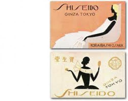 Matchboxes; Shiseido match box label · October 1936