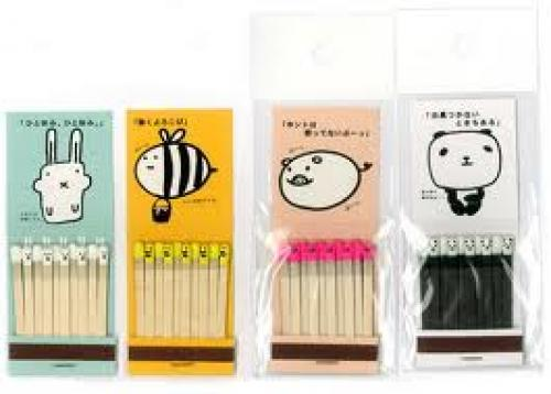 Matchboxes; Japanese Design