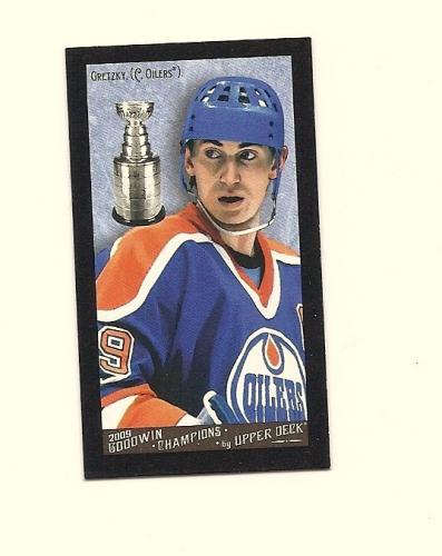 Wayne Gretzky- Goodwin Champions Mini Black Border