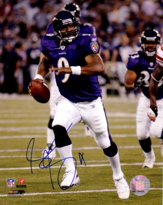 Steve McNair autographed Baltimore Ravens 8x10 photo