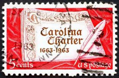 Stamps; 5 cents; UNITED STATES OF AMERICA - CIRCA 1963