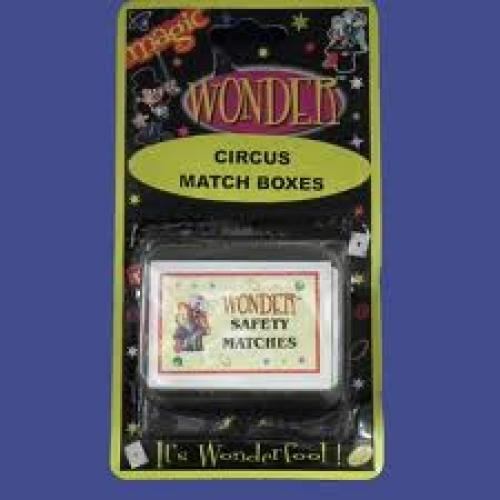 Matchboxes; Wonders Circus Match Boxes