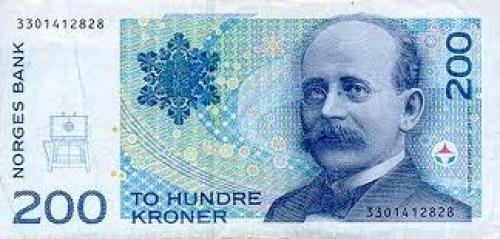Banknotes; Norway 200 kroner; Year: 1994