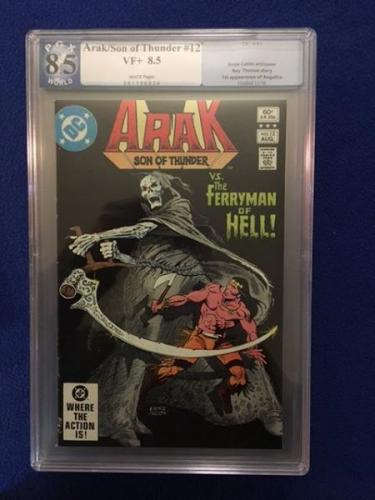 Arak, Son of Thunder #12 AUG 1982 by DC Comics. PGX graded 8.5