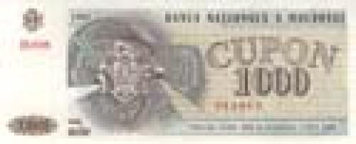 1000 Cupon; Coupon banknotes