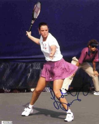 Lindsay Davenport autographed 8x10 tennis photo