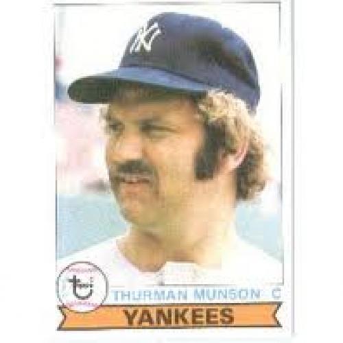 Baseball Card; Topps 1979 Topps # 310 Thurman Munson New York