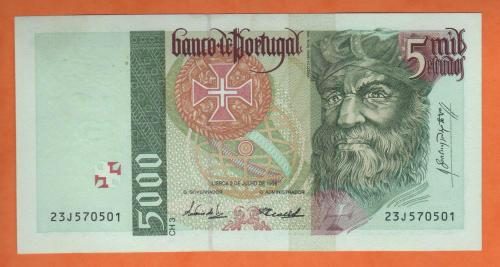 Portugal 5000esc 1998