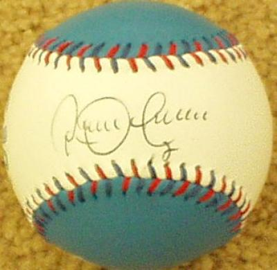 Roberto Alomar autographed Toronto Blue Jays baseball