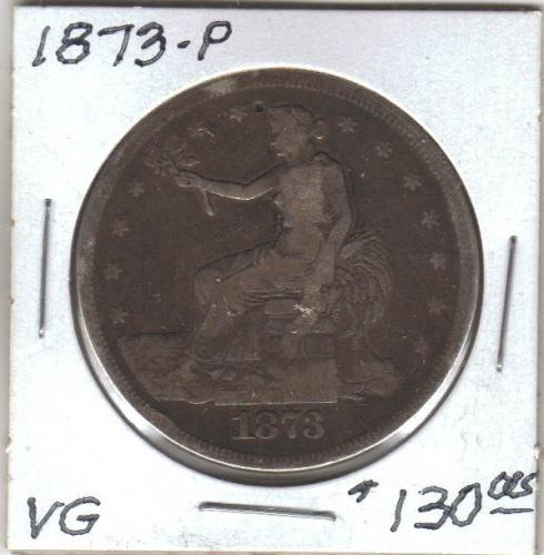 1873 P Trade Dollar