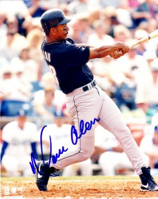 Moises Alou autographed 8x10 Houston Astros photo