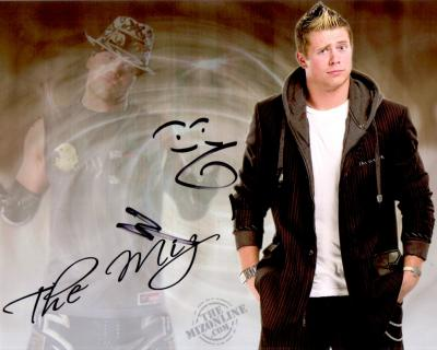 The Miz autographed 8x10 wrestling photo